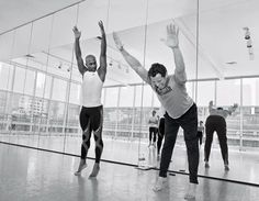 MENS HEALTH: BUILD your body with ballet. Our extreme-fitness investigator goes toe-to-toe with Alvin Ailey's dancers to learn how they develop world-class jumping power, insanely strong cores, and outrageous flexibility. Extreme Fitness, Extreme Workouts, Easy Workouts, Mens Fitness, Fitness Tips, Health Fitness, Men Health, Fitness Plan, Muscle Fitness
