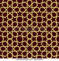 arabic pattern seamless background geometric muslim ornament backdrop colorful texture image of islamic wallpaper raster copy traditional arabic