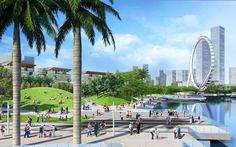 China's Shenzhen Waterfront to be Transformed by Laguarda.Low Masterplan,Courtesy of Laguarda.Low Architects