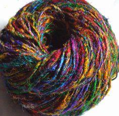 Istanbul Bazaar - Recycled Silk Sari Yarn