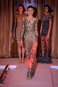 Yanina Summer Collection, Red Carpet, Sari, Spring Summer, Design Ideas, Patterns, My Style, Fashion Design, Needlepoint