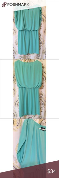 Spring Dress Enfocus mint green dress. Never worn. Very comfortable dress, great for any casual occasion. Knee length. Dresses