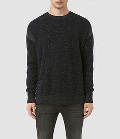 ALLSAINTS Lochrin Crew Sweater. #allsaints #cloth #