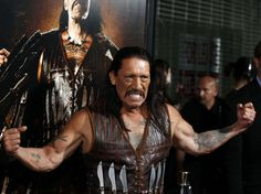 Danny Trejo, shown here at the premiere of the 2010 film Machete, is famous for playing macho roughs. But in real life, Trejo is dedicated to helping others: he became a drug counselor after he got out of prison, and he still works for a rehab center as Director of Patient Relations.