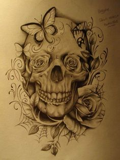 MY RIGHT ARM! But substitute the skull on Bill's arm and use orchids instead of roses!