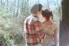 A strong arm around you and a kiss on the forehead can fix everything sometimes. It's a great feeling.