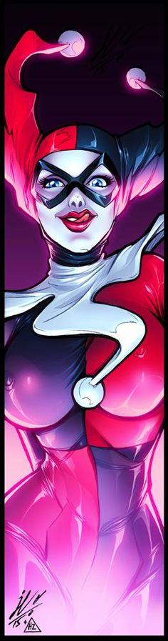 Harley Quinn Drawing, Joker And Harley Quinn, Arkham Asylum, Comic Books Art, Comic Art, Badass Girl, Culture Pop, Comics Girls, Marvel Vs