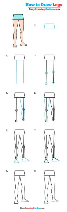 How to draw a nose in a few easy steps easy drawing tutorial how to draw legs in a few easy steps ccuart