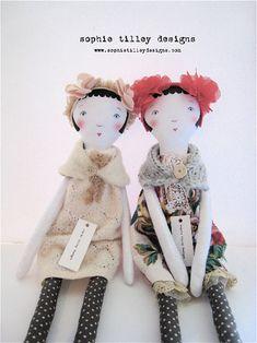 The Artist Partners Blog — Sophie Tilley's Dolls