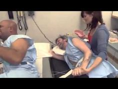 Birth Simulation - Dads Experience What It Feels Like To Give Birth - YouTube