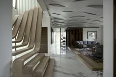the choice of the type of the staircase and modern staircase design. Latest modern stairs designs and staircase ideas for two story homes and living room with stair railing catalogue 2019 Wood Staircase, Modern Staircase, Staircase Design, Floating Staircase, Wooden Stairs, Spiral Staircase, Escalier Design, Interior Design Colleges, Deco Design