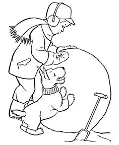 180 best KId\'s Winter Color Fun images on Pinterest | Coloring pages ...