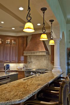 Tuscan Kitchens- ELLEDecor.com