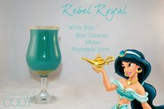 Rebel Royal and other fun Disney-themed drinks!