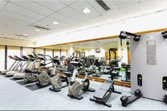 The Linden Suites in Pasig City, Philippines offers world class guest services, accommodation, dining and recreation. Its fitness area is equipped with Technogym innovative wellness machines #fitness #wellness #fitnessfacility #technogym