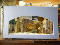 it forum topic. Christmas Nativity Scene, A Christmas Story, Christmas Diy, Fontanini Nativity, Diy Crib, Xmas Decorations, Cribs, Sketches, Display