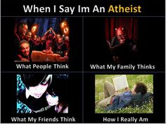 """Courtesy of """"The Thinking Athiest"""" -  Oh my gosh, it's so true! I still love the truth of it... Atheists do good for goodness sake."""