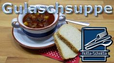 One Pot Gulaschsuppe - Rezept von Flotte Schnitte Pancakes, French Toast, Breakfast, Food, Goulash Soup Recipes, Beef, Morning Coffee, Essen, Pancake