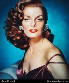 Jane Russell - 1950s actress...when she was young