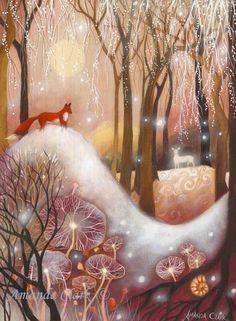 Limited edition giclee de  Illumina  par Amanda par earthangelsarts