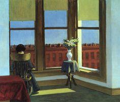 """ArtG030. Edward Hopper """"Room in Brooklyn"""" 1932 / Oil on canvas / 73,6 x 86,3 cm."""