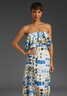 T-Bags LosAngeles Strapless Maxi Dress thestylecure.com