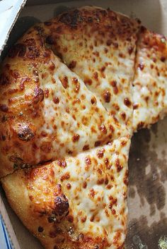 Cheesy Thick-Crust Pizza