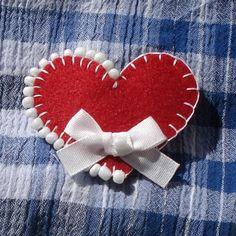 Srdiečko LOVE2 - brošňa za 2€ | Jaspravim.sk