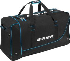 Bauer Core Player Carry Bag [SENIOR] by Bauer. $39.99. The Bauer core player bag is designed with Bauers innovative features, and with knowing how tough hockey players and their equipment are on their bags. The core bag is designed with strong and durable polyester fabric and heavy duty PVC fabric backing. The core bag features a large U shaped top opening with double zippers so your stuff is easy to find when getting ready and hard to miss when packing up. The outside of ...