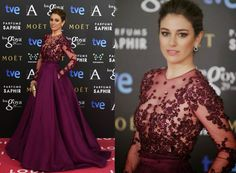 Blanca Suarez in zuhair murad on the red carpet