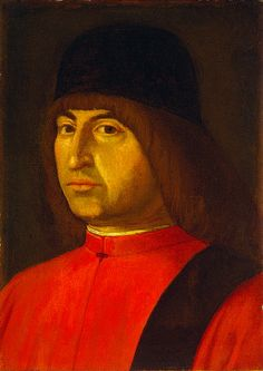 Late 15th c. oil on panel portrait (10 1/2 x 7 5/8 in.) - Smithsonian 1960.6.1