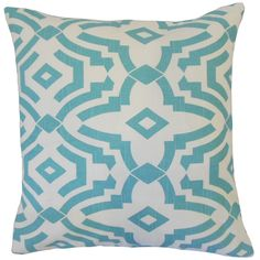Zephne 18-inch Feather and Down Filled Throw Pillow