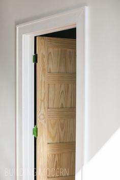 A new door and trim!