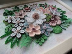 Original Paper Quilling Wall Art Breath of by MagicQuillingStrips
