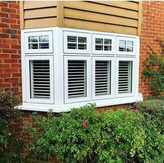Bay Windows, Garage Doors, Outdoor Structures, Outdoor Decor, Home Decor, Decoration Home, Room Decor, Bay Window Designs, Home Interior Design
