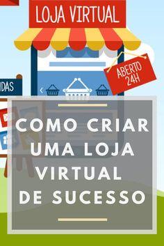 Aprenda á montar uma Loja Virtual Passo á Passo Online Work From Home, Work From Home Jobs, Alta Performance, Instagram Blog, Marketing Digital, Pet Shop, Business Marketing, Ecommerce, Coaching