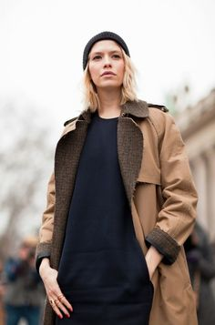 the trench - whether a modern version or a classic cut - you can't go wrong with this style staple.
