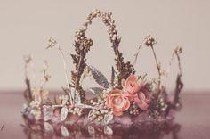 Flower Crown - Wire Crown - Fairy Crown - Flowergirl hairpiece - Summer Wedding - Newborn Photo Prop - Wedding Crown - Floral Hairpiece by LittleLadyAccessory on Etsy Newborn Photo Props, Newborn Photos, Wire Crown, Birthday Tiara, Girl With Pink Hair, Dress Up Day, Little Girl Birthday, Photography Props, Hair Pieces