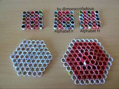 Steps ... Alphabet box ... Quilling box