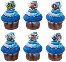 Avengers Asst. Cupcake Rings