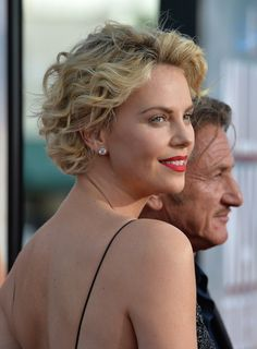 Short Hairstyles Lookbook: Charlize Theron wearing Short Curls (46 of 67). Charlize Theron styled her short hair with windblown curls for the premiere of 'A Million Ways to Die in the West.'