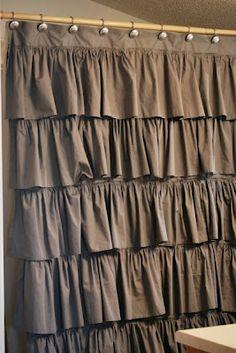 burlap curtains   The Scrap Shoppe: Pinterest Feature Friday - PFF #24