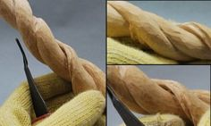 how to smooth your wood carving