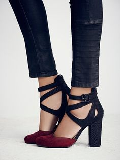 faryl robin free people Vegan Atwood Heel at Free People Clothing Boutique #shoelover