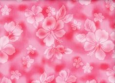 33.Hawaiian Hibiscus Japanese Imported Cotton Punch