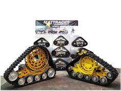 Mattracks, the leader in rubber track conversion systems just released its new series of Ag Tracks, the series. Van 4x4, Honda Cruiser, Kids Atv, Man Cave Items, Off Road Buggy, Compact Tractors, Scooter Motorcycle, Vintage Tractors, Jeep 4x4