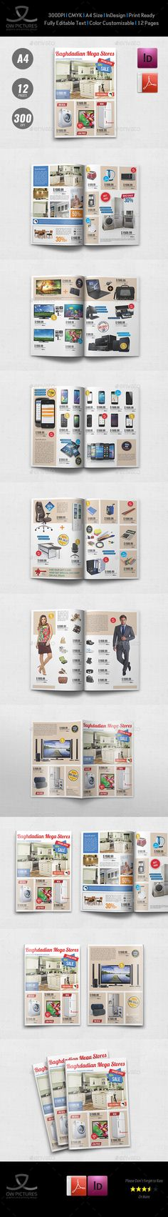 Products Catalog Brochure Template Vol.5