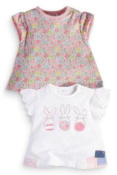 Next:日本で今すぐオンラインショッピング: バニー Tシャツ 2 枚パック (0~18 か月) Next:日本
