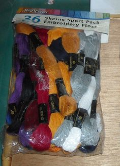 Jandp Coats - Embroidery Floss - Skeins Sport Pack - 36 in Package *** Continue to the item at the image link.
