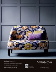Folium, the new collection by Villa Nova. #fabric #intede #design